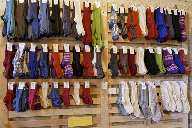 Chaussettes Mohair